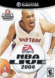 NBA Live 2004 (Nintendo GameCube, 2003) video game
