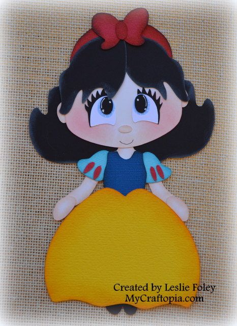 Disney Princess Snow White Premade Scrapbooking by MyCraftopia, $5.95
