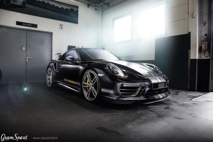 Porsche 911 (991) Turbo S z kompletnym zestawem modyfikacji TECHART  Podkreślający legendarny design 911 pakiet aerodynamiczny, niesamowite felgi Formula IV a wszystko to okraszone sportowym układem wydechowym, zawieszeniem oraz jeszcze większą mocą!  911 Turbo S TechArt to produkt idealny? Wiele na to wskazuje..  Oficjalny Dealer TECHART w Polsce GranSport - Luxury Tuning & Concierge http://gransport.pl/index.php/techart.html
