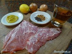 Receta de Secreto de cerdo a la plancha - Fácil - 9 pasos