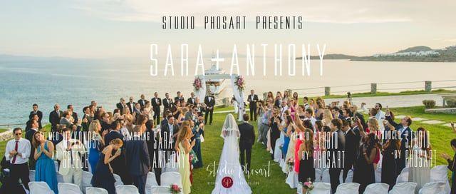Wedding in Mykonos Greece | Sara & Anthony | Wedding Teaser by Phosart