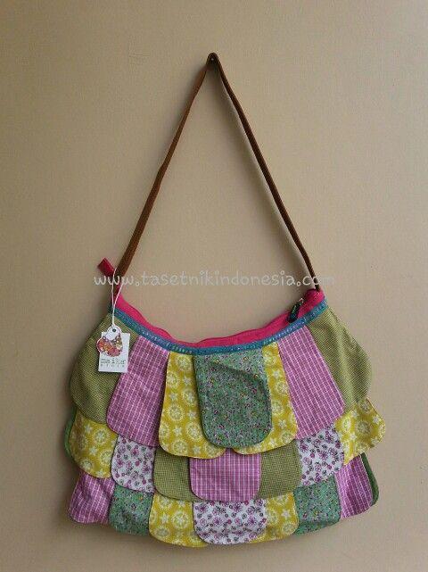 Hippy Chic Pink  From Maika Etnik  Ethnic Handmade bags $25  Www.tasetnikindonesia.com