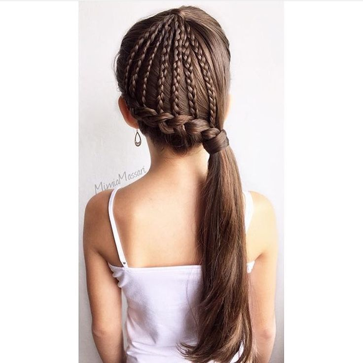 Amazing 1000 Images About Girls Hair Ideas On Pinterest Heart Braid Short Hairstyles For Black Women Fulllsitofus