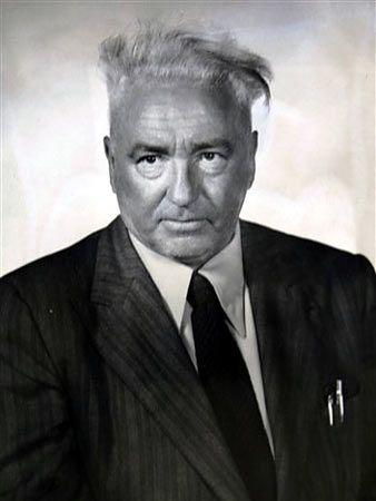 Wilhelm Reich, psychoanalyst and originator of the theory of orgones.
