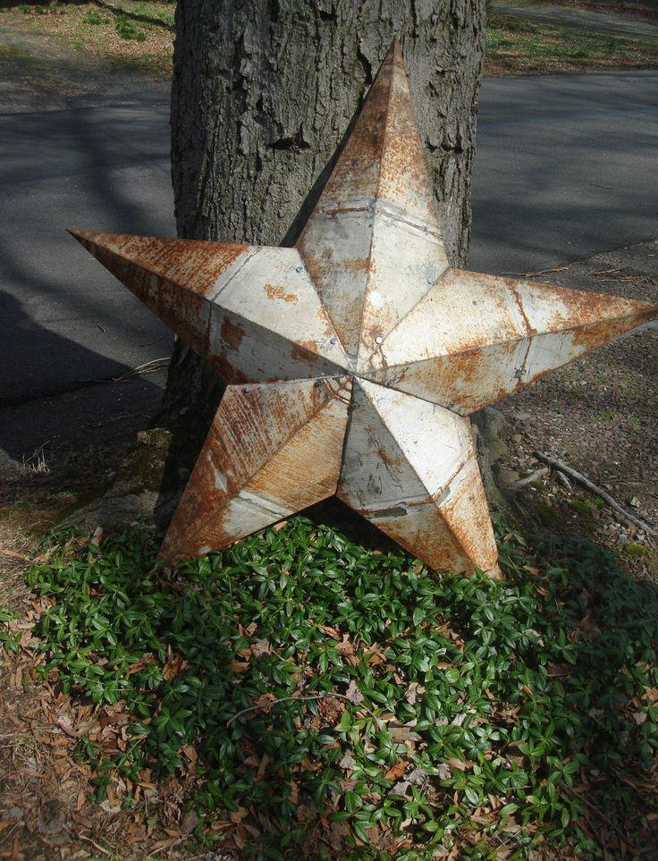 antique tin barn star/ tinroof barn star /amish tin star/ metal star / rustic tin star by StinkyTinkysTreasure on Etsy