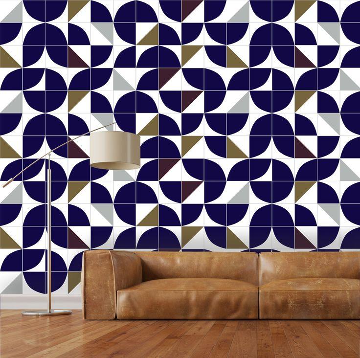 Compre online M² Azulejos Kit Floresta por R$540,00. Faça seu pedido, pague-o online e receba onde quiser.