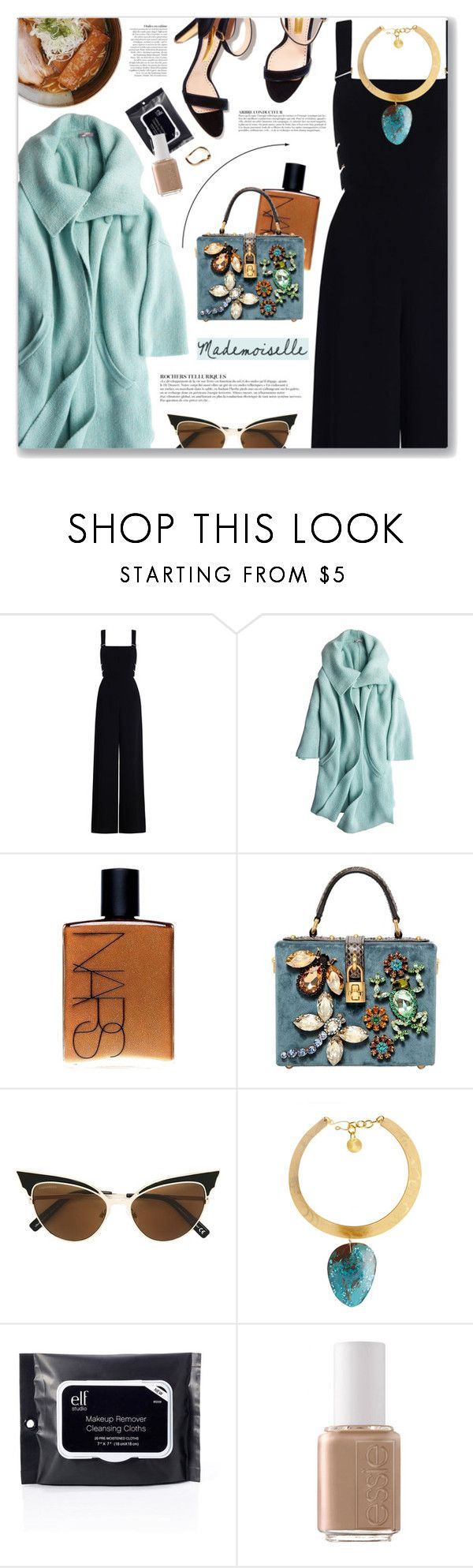 """""""7 Years, Lukas Graham"""" by blendasantos ❤ liked on Polyvore featuring Zimmermann, Calypso St. Barth, NARS Cosmetics, Dolce&Gabbana, Dsquared2, Anja, Morra Designs, Essie, Charlotte Russe and oversizedcoats"""