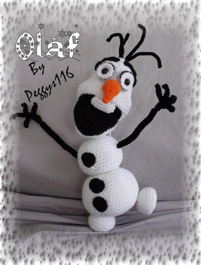 Crochet Doll Cradle Purse Pattern : OLAF the FROZEN Snowman amigurumi Crochet: 683900 Pixel ...
