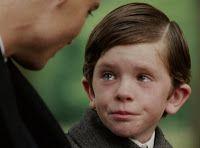 from Finding Neverland - Freddie Highmore (?) as Peter Llewelyn Davies (Peter Pan)