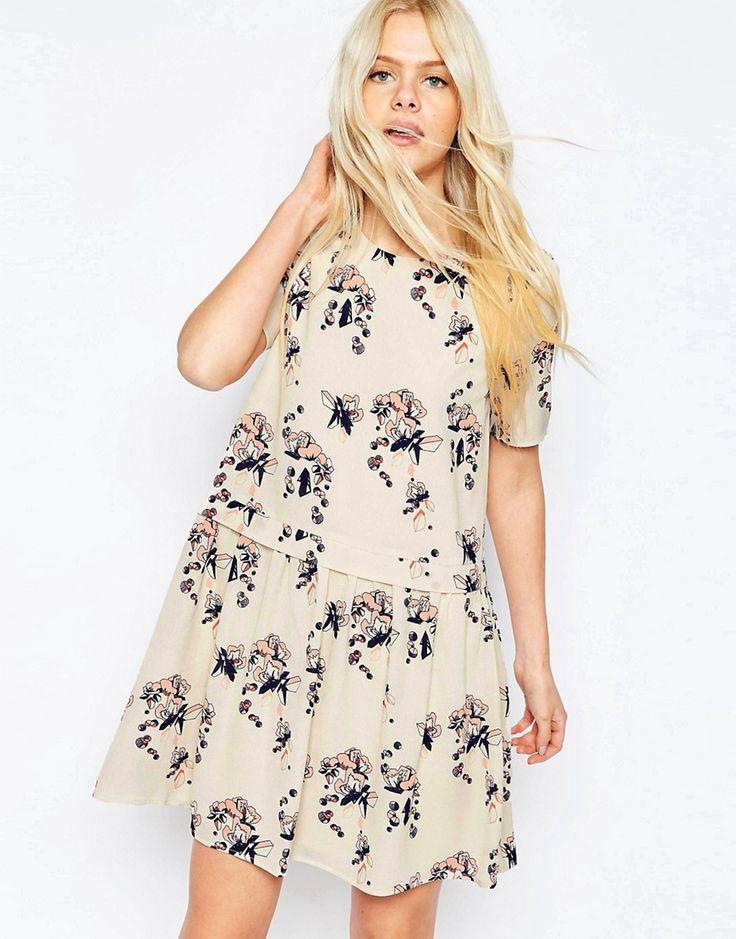 Image 1 ofY.A.S Floral Babydoll Dress
