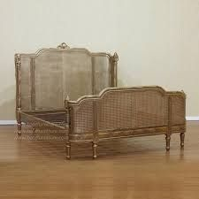 Image result for french rattan bed frame