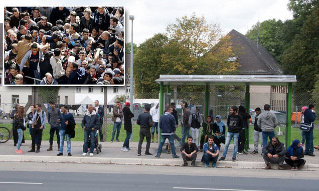 Germany in a state of SIEGE with the floodgates opened to migrants #DailyMail