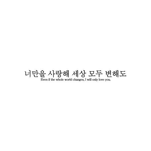 【semi-hiatus。。。。】 ❤ liked on Polyvore featuring words, text, hangul, korean, font, quotes, phrase and saying