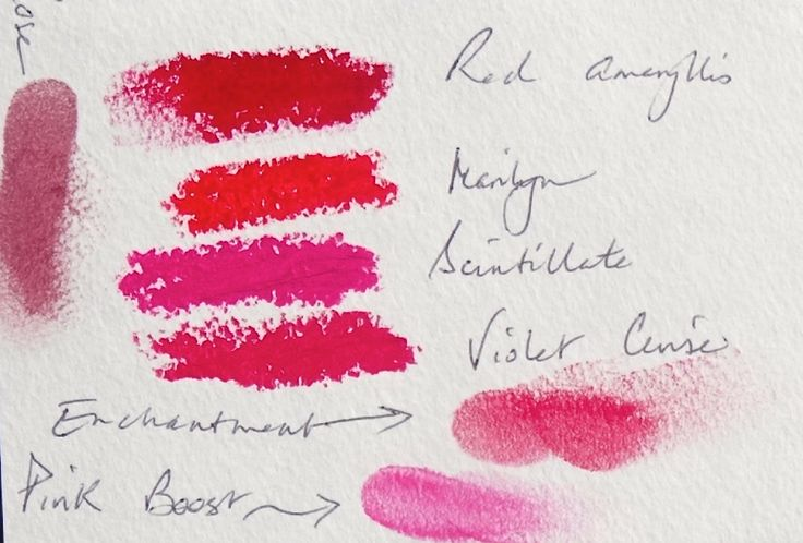 Bright Winter Lipstick and Blush. New 12 Blueprints makeup line. Fragrance-free and Paraben-free.