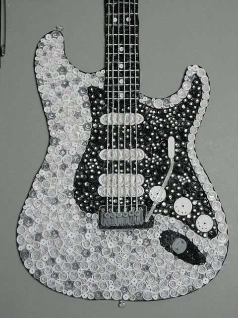 Quilled Fender Guitar....ONE DAY!