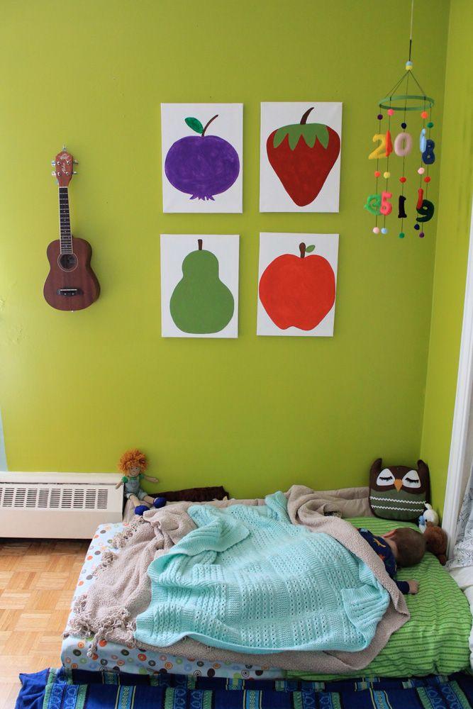 Floor bed in theo 39 s room nursery pinterest room for Flooring for child s bedroom
