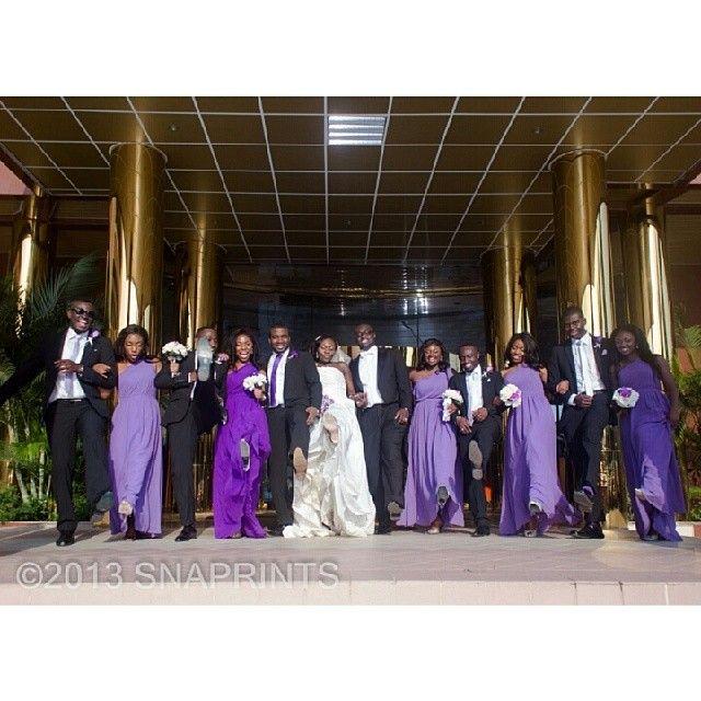 Purple and lavendar Nigerian wedding! Follow @ChiefWedsLolo.com - Nigerian Wedding Planning Blog (Traditional and Church/Mosque) for more purple Nigerian wedding inspiration! So pretty! From @snaprint on instagram. #bellanaijaweddings #weddingdigestnaija #welovenigerianweddings #nigeiranweddings #nigerianbride