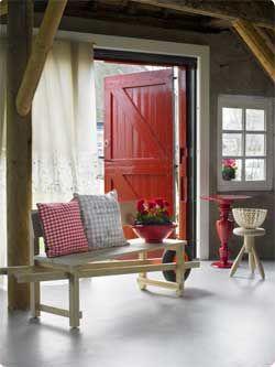 Landelijk, rustiek interieur, farmhouse