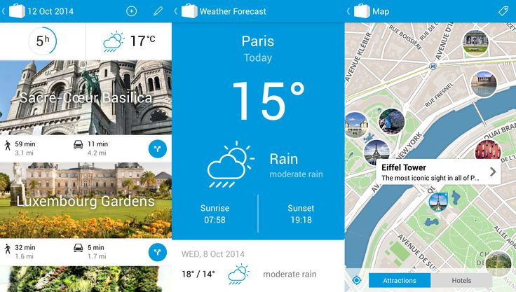 Planning a trip to Paris? Don't miss the best sights with Tripomatic for Android! In the latest version of our app, we are bringing you tons of new features, including time estimates, routing and weather forecast. Tripomatic is the best way to explore places you have never visited before. Get the app here https://play.google.com/store/apps/details?id=com.tripomatic or visit http://www.tripomatic.com.