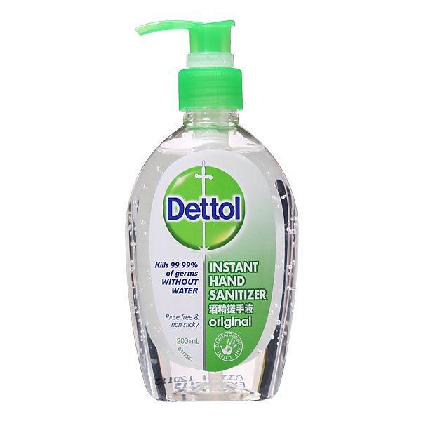 ژل ضد عفونی کننده دست Dettol Sanitizer Dish Soap Bottle Hand