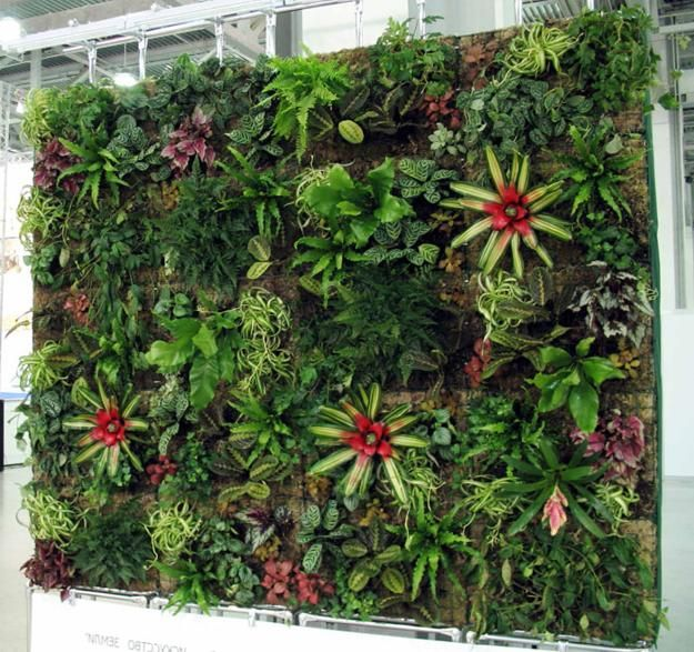 vertical yard landscaping and garden designs sound proofings