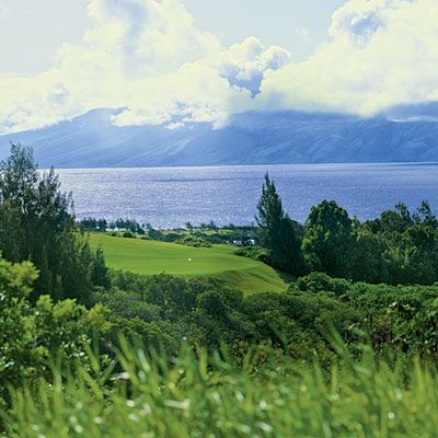 Plantation Course    KAPALUA, HAWAII    Every year, golf fans can get a good look at the Plantation Course's oceanfront holes—and catch glimpses of breaching whales in the distance—during the PGA Tour's season-starting, televised event, the Hyundai Tournament of Champions.