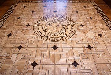 Versace Style Wood Floor Inlay Pattern Pinterest