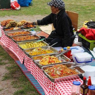 Amazing Berlin asiatisches Essen im Preu enpark