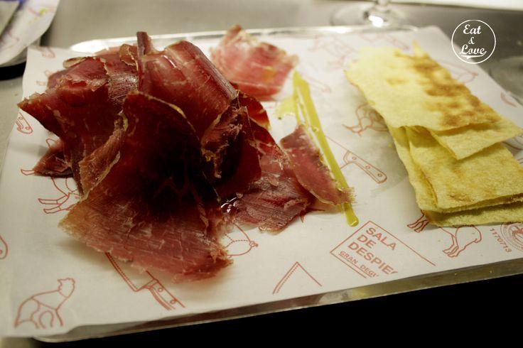 Cecina de León en Sala de Despiece - restaurante tapas Madrid