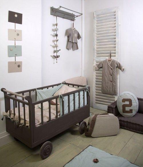 Stoere babykamer in pastel en aardetinten #baby #kidsroom #babykamer