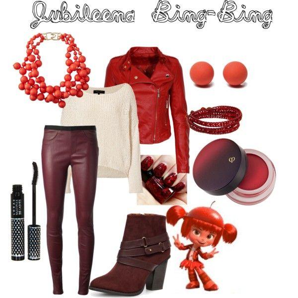 """Disney Outfits: Jubileena Bing-Bing"" by jas67angel on Polyvore"