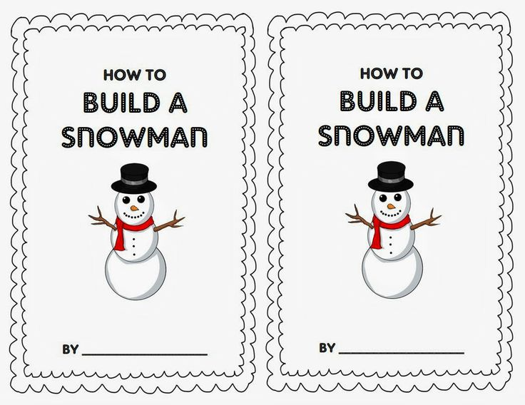 Best 25+ How to build a snowman writing ideas on Pinterest