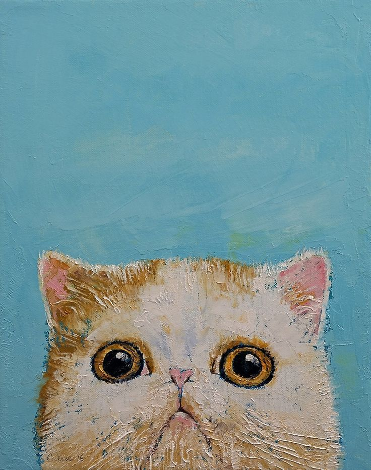 "creese: ""Hello Kitten by Michael Creese """
