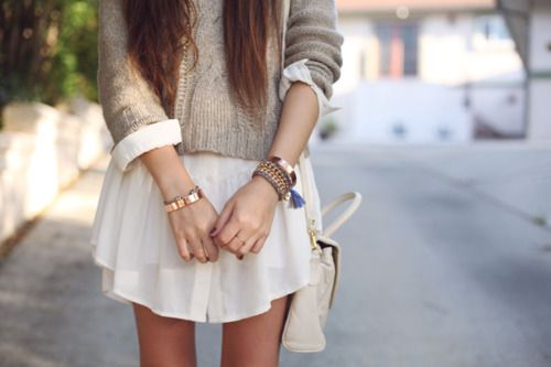 love.: Sweaters Dresses, Cute Outfits, Dresses Shirts, Sweaters Weather, Fall Outfits, Spring Outfits, Knits Sweaters, Gowns Wedding, Sweaters Over Dresses