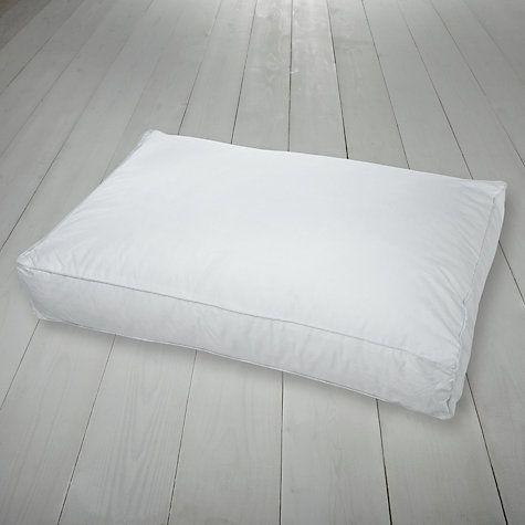 Buy John Lewis Sleep Solution Side Sleeper Standard Pillow, Firm Online at johnlewis.com