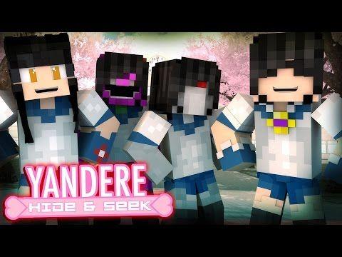 Minecraft YANDERE HIDE N SEEK 3! /w Facecam (Custom Mini-Game) - YouTube
