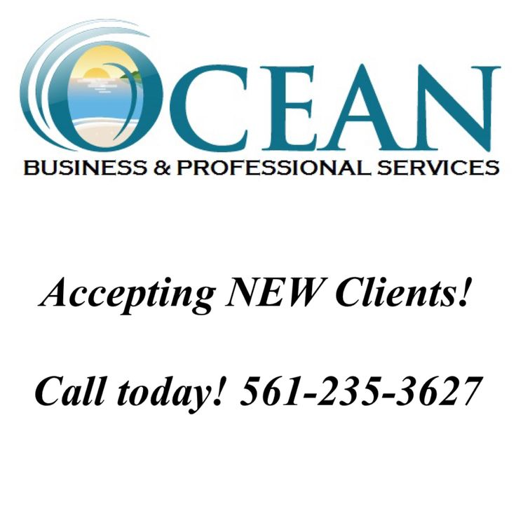 @OceanBPS can assist you in many areas of your business such as #bookkeeping, #irs form preparation, #employee agreements #payroll calculations #etc  Contact us today to get started! 561-235-3627 #MultiServices #SeHablaEspañol #googlePlus #irs #likeminded  #SmallBusinessSaturday #like4like #onlinemarketing #entrepreneur #businesswoman #taxpro #bosslady #taxlady #exposure #marketing #followforfollow