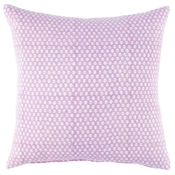 Bindi Lavender Decorative Pillow 20 X 20