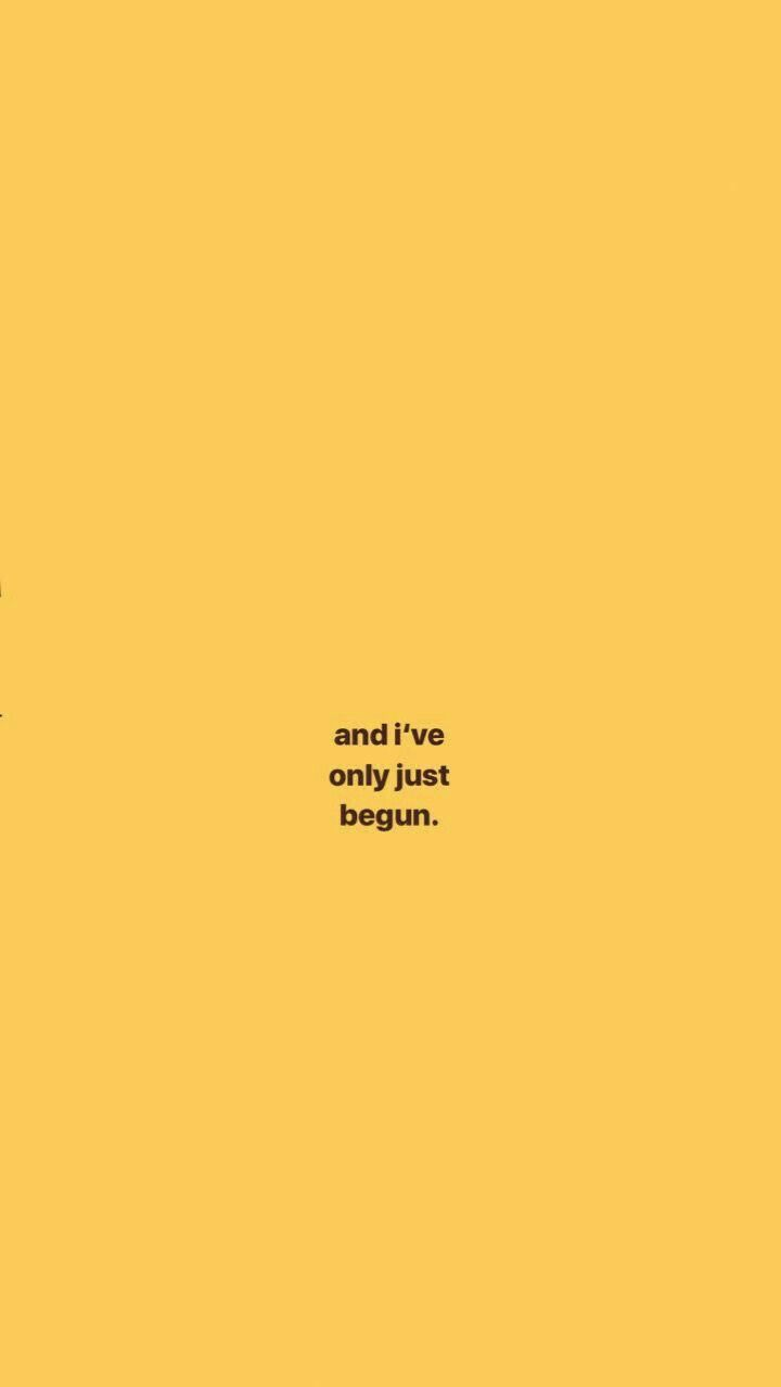 G E O R G I A N A Yellow Quotes Wallpaper Quotes Quote Aesthetic