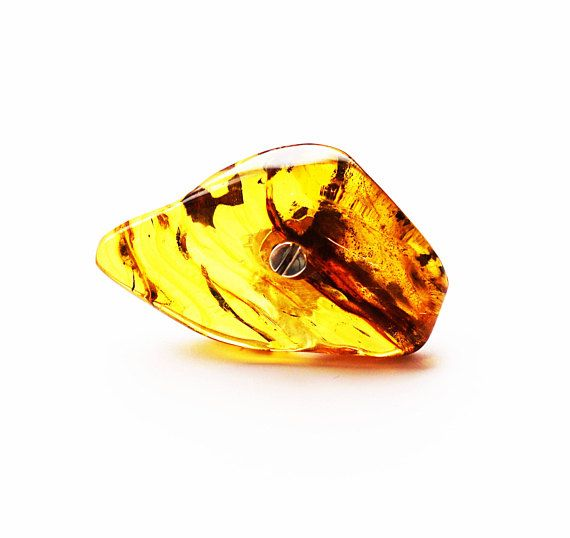 E.Salwierz Design  Baltic Amber Ring 39g