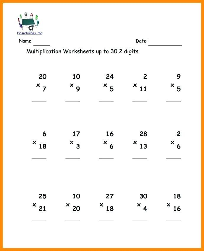 6 multiplication worksheets grade 2 therapeutics ...