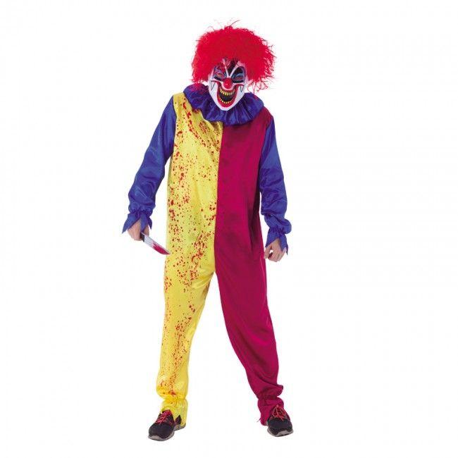Disfraz de Payaso Asesino Youtube para hombre #disfraces #halloween #killerclown