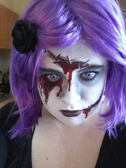 My spooky facepaint 2012