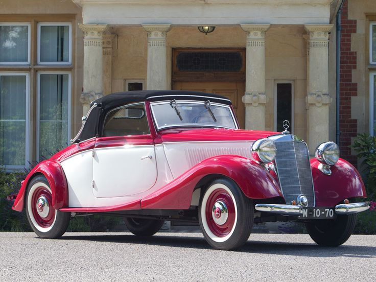 1936 Mercedes-Benz 170 V Cabriolet A  #mbhess #mbclassic