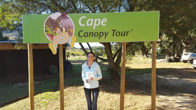 Arriving in Elgin in the Western Cape.