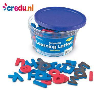 Magnetische Letters - https://www.credu.nl/product/magnetische-letters/