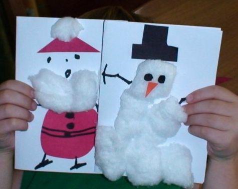 Best 25 tarjetas navide as manualidades ideas on - Como hacer manualidades navidenas para ninos ...