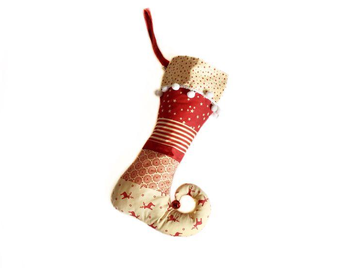 Calze della befana - Calze della befana / Stivali del folletto - un prodotto unico di LutteLuud su DaWanda