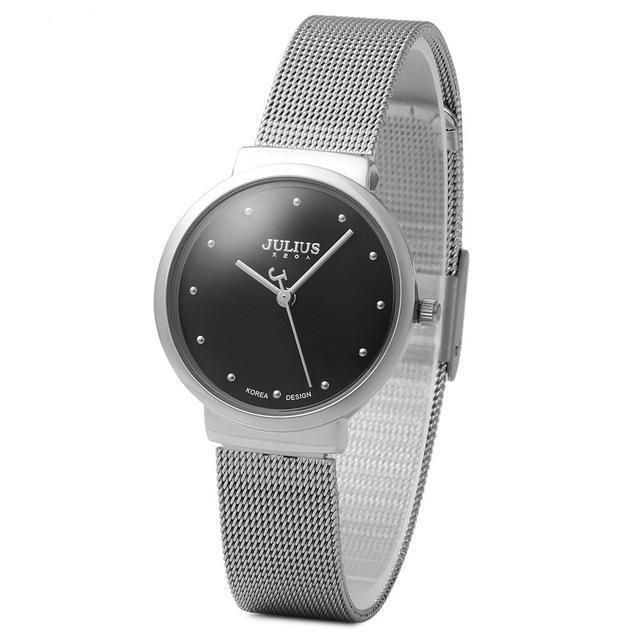 Mesh Band Ultrathin Stainless Watch – uShopnow store