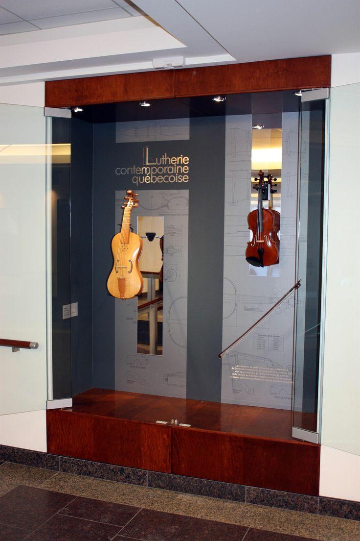 Gauche : Dave Lebel , viole de gambe Droite : Marie-Ève Bisson, violon classique Archet : Louis-Philippe Arsenault Huot
